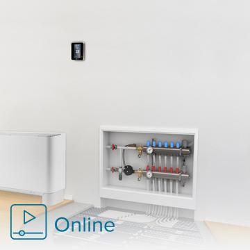 Cómo regular el funcionamiento de una instalación de suelo radiante con RadianT365