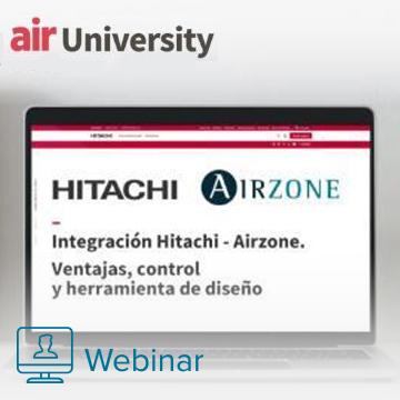 Soluciones eficientes con la integración Hitachi - Airzone