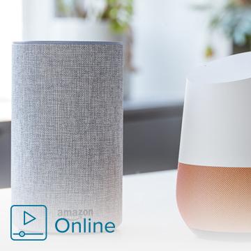 Control Airzone con asistentes de voz Amazon Alexa y Google Assistant