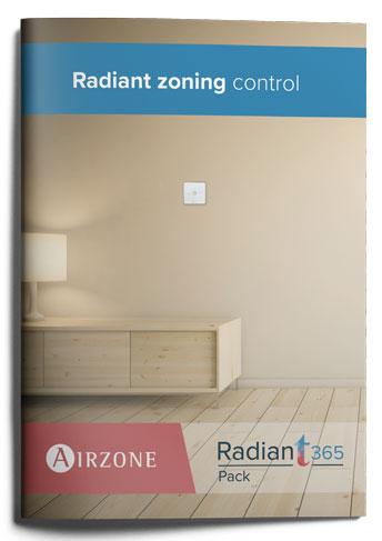 Radiant zoning control