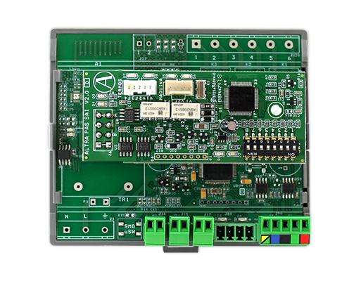 Módulo individual radio, pasarela Samsung