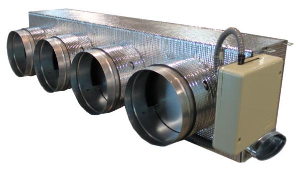 Plénum motorizado estándar Hitachi