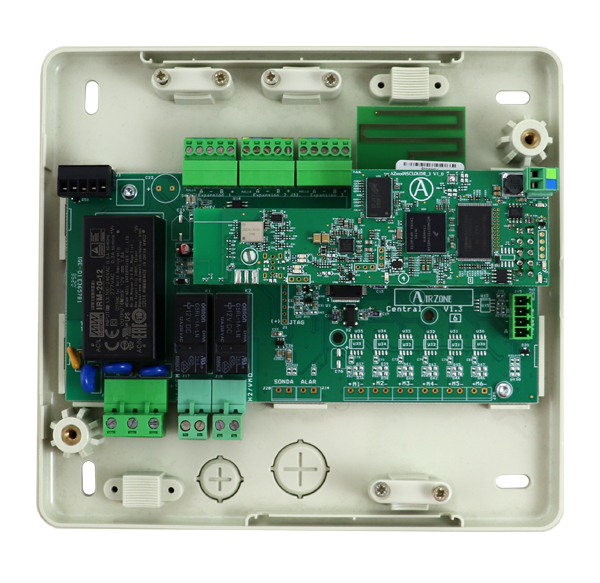 Central de sistema Airzone RadianT VALR Cloud dual 2.4-5G para radiadores