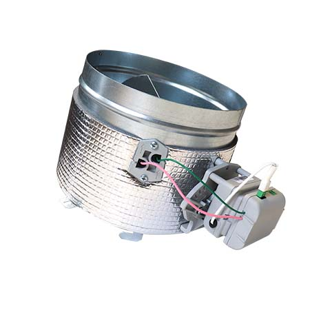 Reemplazo compuerta Airzone de 200 mm con motor y purificación (BS)
