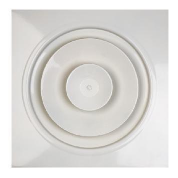 Difusor circular de placa de inducción