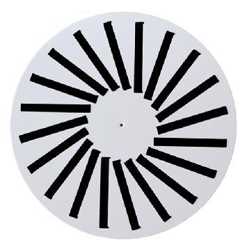 Difusor Rotacional Circular para Techo Continuo
