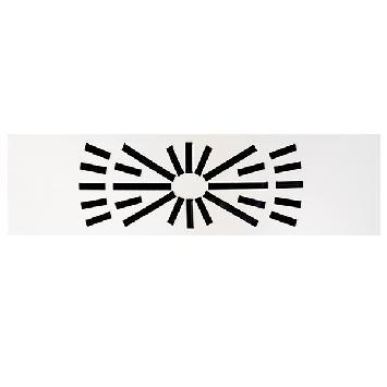 Difusor rotacional Rectangular para Techo Modular