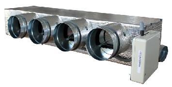 Plénum motorizado baja silueta Kaysun